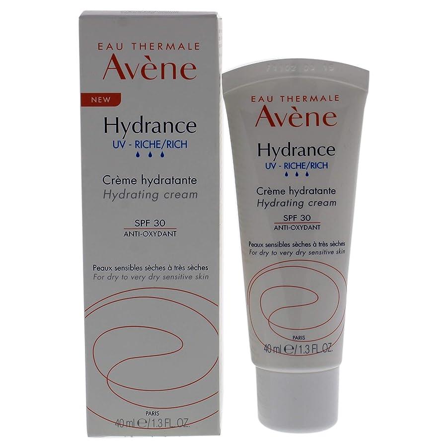 悲しむ工夫する母アベンヌ Hydrance UV RICH Hydrating Cream SPF 30 - For Dry to Very Dry Sensitive Skin 40ml/1.3oz並行輸入品