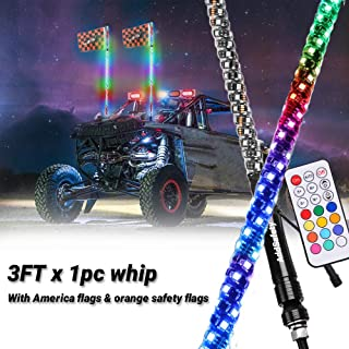 utv led whip lights