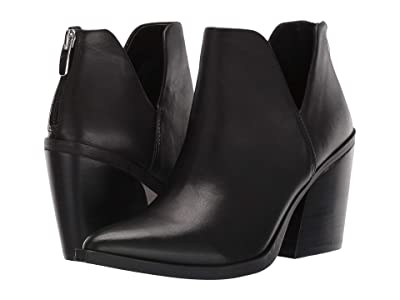 Steve Madden Alyse Bootie (Black Leather) Women