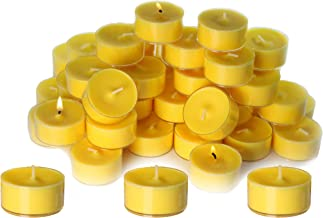CandleNScent Citronella Candles Outdoor Tea Lights   Scented   Clear Cup   Made in USA (Pack of 100)