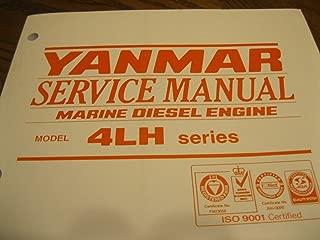 YANMAR Service Manual , Marine Diesel Engine 4LH series AOA 1030-1