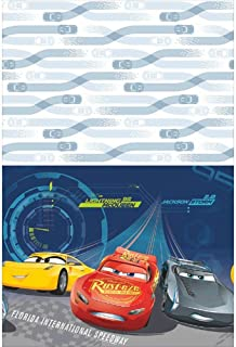 Amscan Cars 3 Plastic Table Cover