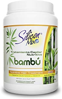 Silicon Mix Bambu Nutritive Hair Treatment, 60 Ounce