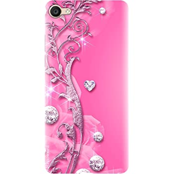 Renowned Vivo Y71 Designer Back Case l Vivo Y71 Printed Back Cover l Vivo Y71 Cover - Sober l Cute Design l Woman l Fancy l Pink l Girl