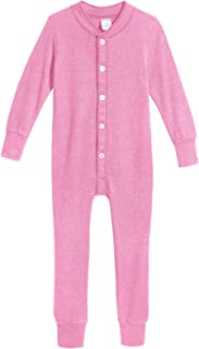 City Threads Boys' and Girls' Union Suit Thermal Underwear Long John Made in USA