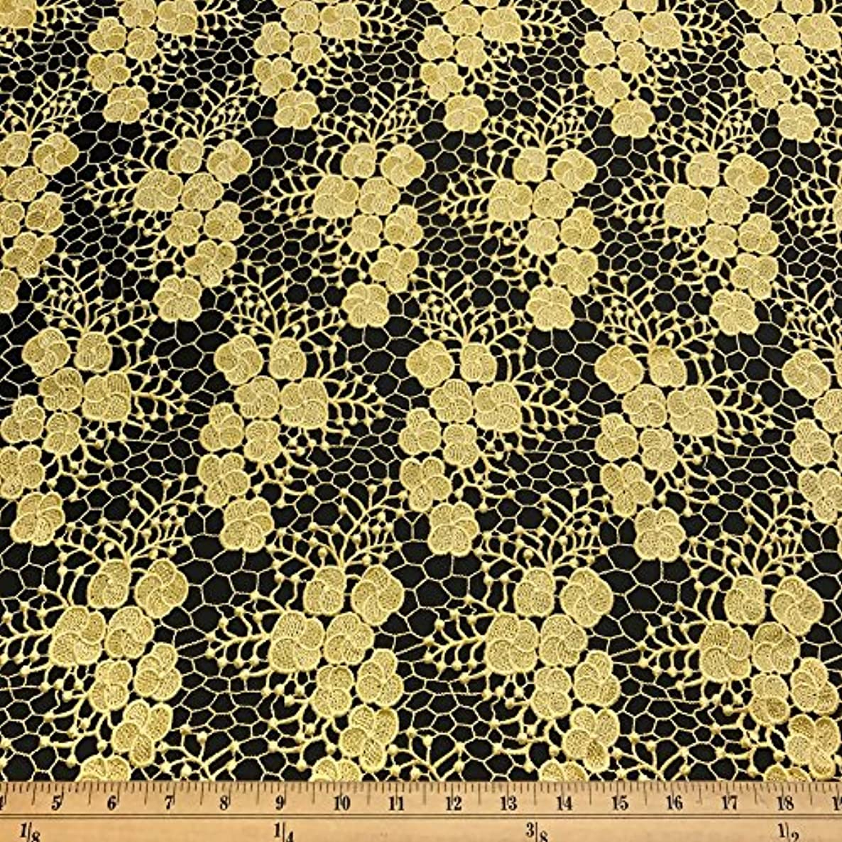 Azalea Guipure Corded French Lace Embroidery Fabric 52