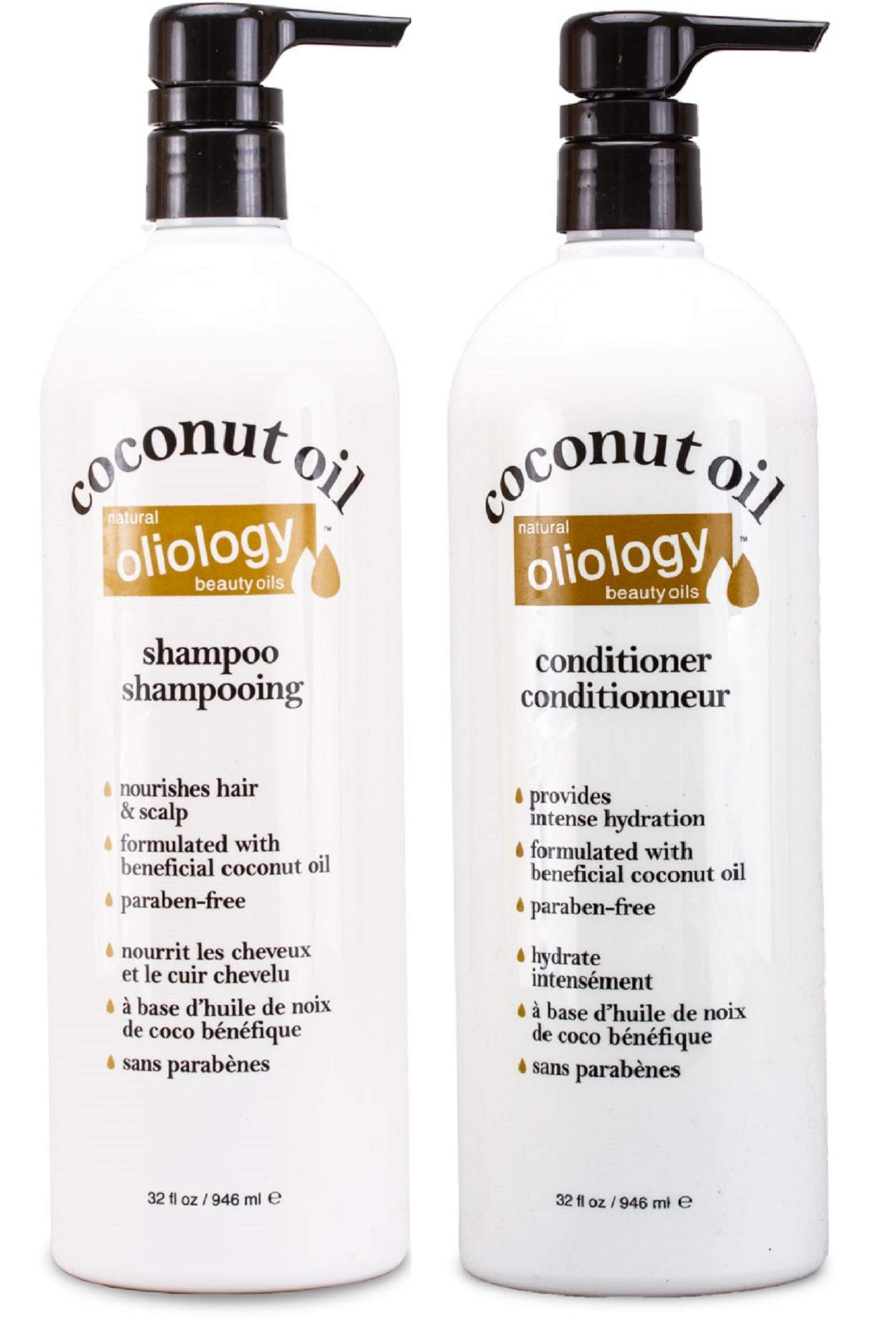 Oliology Nutrient Coconut Shampoo Conditioner