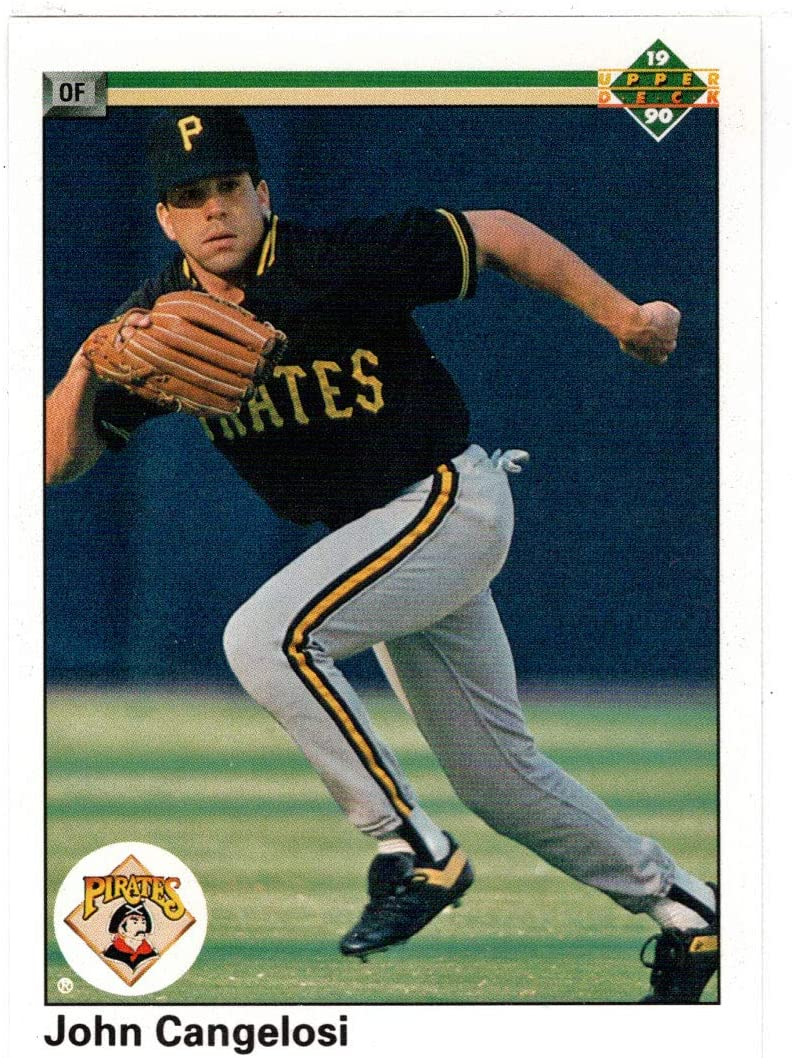 John Cangelosi - Pittsburgh Pirates famous D 1990 Cheap super special price Card Baseball Upper