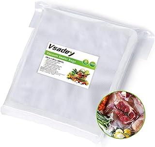 Vsadey Sacs Sous Vide Alimentaire 100Sacs 28 X 40CM, Sans BPA et Approuvé par la FDA pour Toutes les Appareil de Mise Sous...