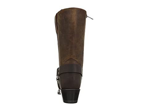 Boot Boots Harness West Old Distressed DistressedBrown Black xF8wf