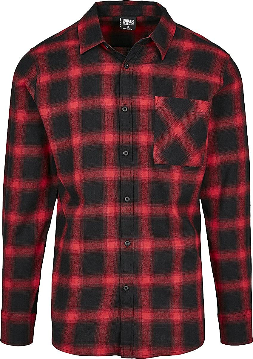 Urban Classics - Oversized Checked Flanell Shirt