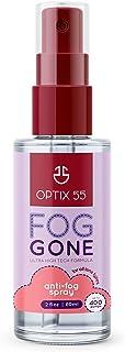 Optix 55 Anti-Fog Spray for Anti Reflective Lenses | Prevents Fogging of Glass or Plastic Windows, Mirrors, Eyewear Lenses...
