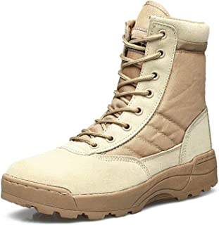 Men Military Leather Boots Special Forces Tactical Desert Combat Boats Outdoor Shoes Snow Boots 711