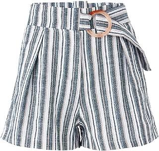 Valleygirl Chloe Buckle Front Shorts (324169)