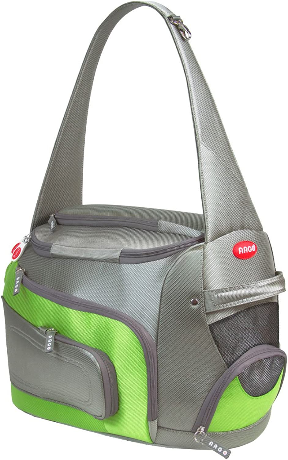 ARGO by Teafco DuffO Airline Approved (20Inch Large) Pet CarrierKiwi Green