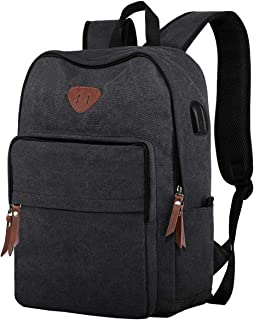 c358cfa88a9a Amazon.com: Ibagbar Canvas Backpack Travel Rucksack