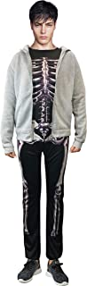 Donnie Darko Skeleton Set (Suit + Hoodie) Coat Adult Costume Jumpsuit