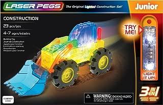 laser pegs construction
