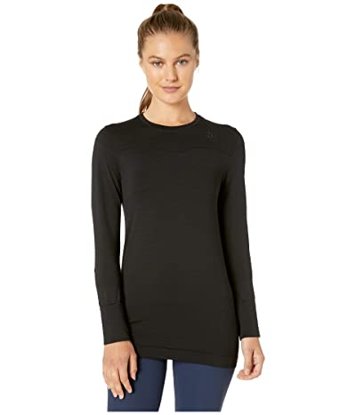 Craft Fuseknit Comfort Round Neck Long Sleeve (Black) Women