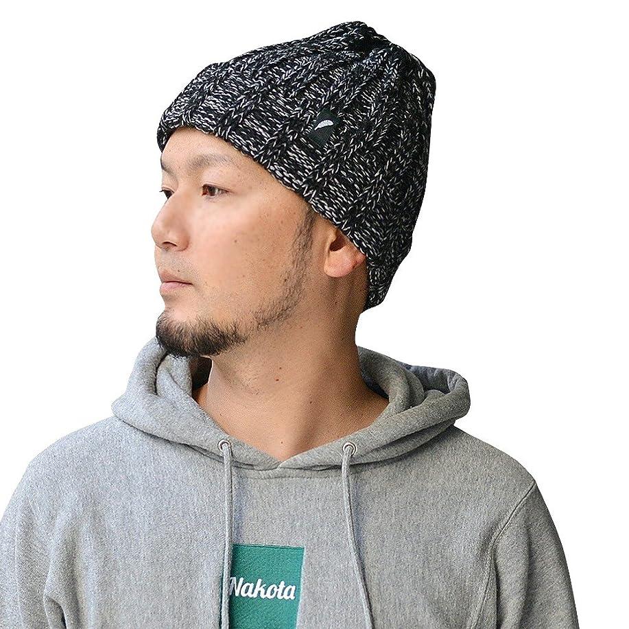 重量ダニ回復するnakota ナコタ オリジナル ローゲージ メランジ ニット帽 ニットキャップ ビーニー