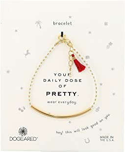 Dogeared - Your Daily Dose of Pretty Tube w/ Gems Bracelet