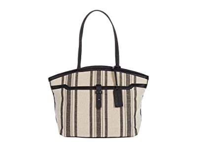SOLE / SOCIETY Nylah Tote (Black Combo) Handbags