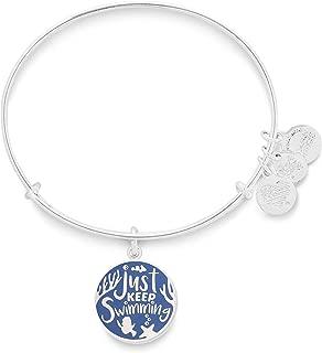 Disney Parks Alex & ANI Just Keep Swimming Bangle Bracelet