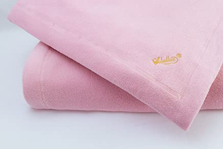 Soft Pink Fleece Sobellux Blanket - Full Size Bed Blanket