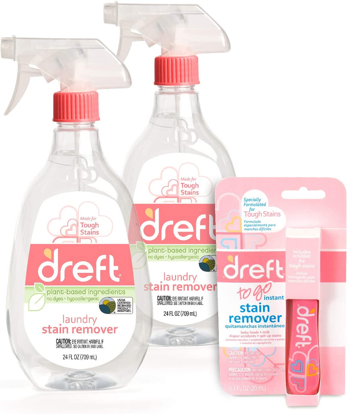 Dreft Stain Remover 24 Ounce + Pack 2 Max 48% Over item handling OFF of Pen