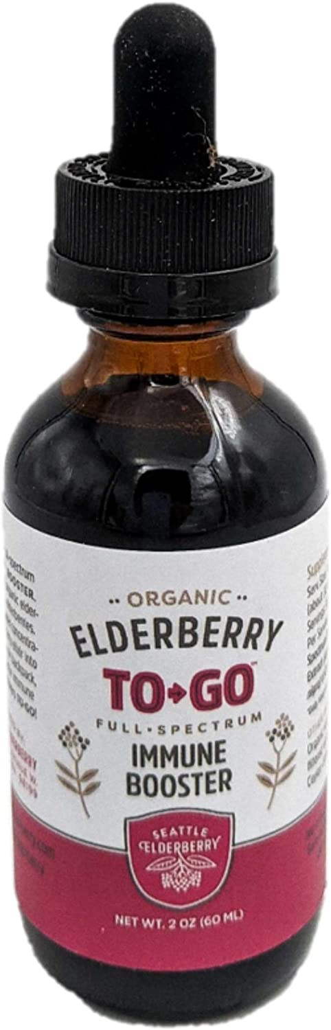 Sacramento Mall OFFicial mail order Seattle Elderberry Organic Tincture to-Go
