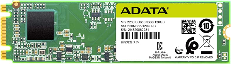 ADATA SU650 120GB M.2 2280 SATA 3D NAND Internal SSD (ASU650NS38-120GT-C)