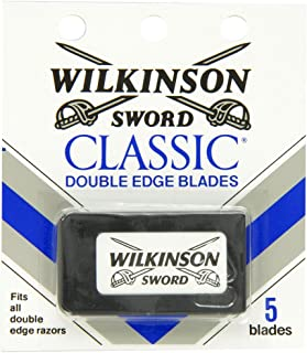 Wilkinson Sword Double Edge single Razor Cartridge, 30 blades