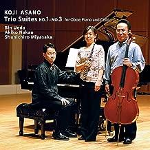 Trio Suites No.1-No.3 for Oboe, Piano and Cello