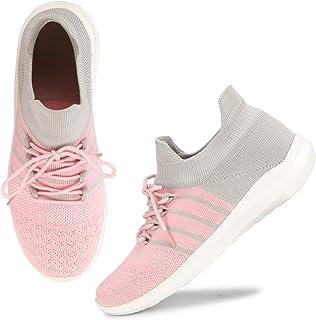 ZOVIM Women Shoes Running,Walking Sports Sneakers
