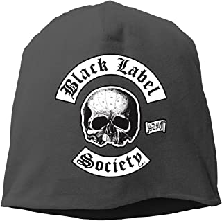 Black Label Society Cotton Fashion Breathable Knitted Hat Unisex Cool Spring Autumn & Winter Ultra-Thin Beanie Hat for Men&Women