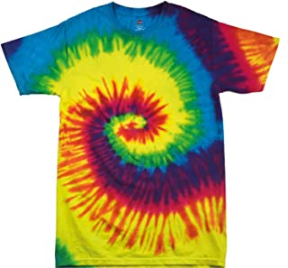 30e72cde816 123t Tie Dye - Camiseta de manga corta, sencilla, diseño de  arcoí
