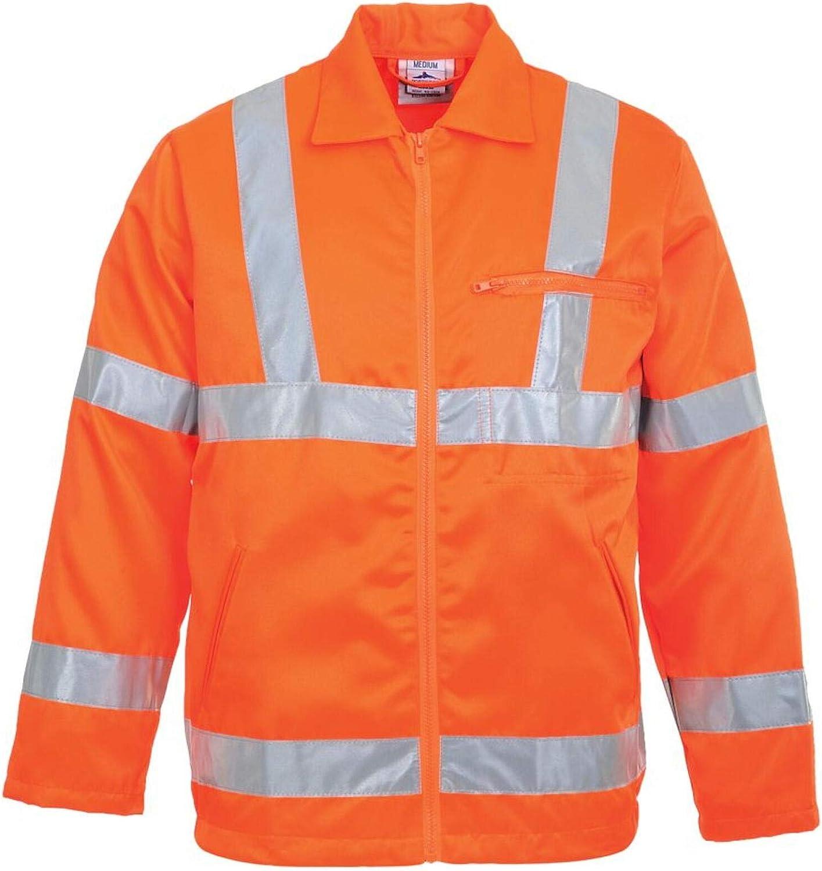 Portwest Workwear Mens Hi-Vis P/C Jacket GORT