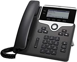 Cisco IP Phone 7821 with Multi-Platform Phone Firmware, 3.5-inch Grayscale Display, Class 1 PoE, Supports 2 Lines (CP-782... photo
