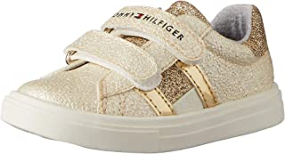 TOMMY HILFIGER Low Cut Glitter Velcro Sneaker Girls Low Cut Glitter Velcro Sneaker