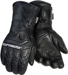 Tourmaster Synergy 7.4V Battery Heated Leather Gloves (Large) (Black)