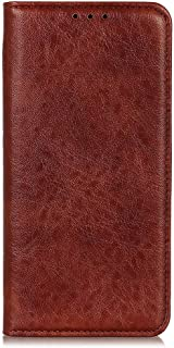 zl one Compatible with/Replacement for Phone Case LG K20 2019 PU Leather Card Slots Wallet Case Flip Cover (Brown)