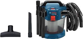 Bosch Professional 18V System batteridriven dammsugare GAS 18V-10 L (utan batteri och laddare, med platt veckfilter, golvm...