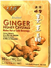 PRINCE OF PEACE - Ginger Honey Crystals - 10 Tea Bags