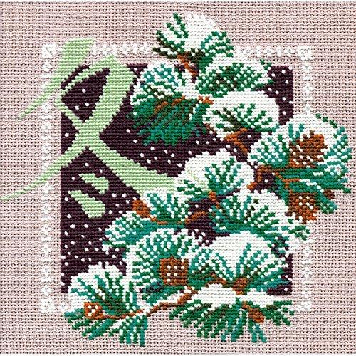 Invierno de punto de Kit de punto de cruz Riolis Oriental 814tamaño 8x 816Count by RIOLIS