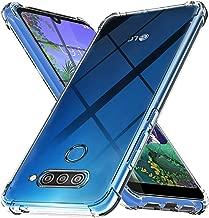 Ferilinso Cover per LG Q60, Custodia Case Ultra Slim Custodia Protettiva in Silicone Resistente ai Graffi Custodia alla Copertura in Gomma TPU per LG Q60(Trasparente)