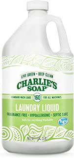 Charlie's Soap Laundry Liquid Gallon, 128 Ounce , Packaging may vary.