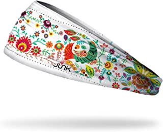 JUNK Brands Folk Awakening Big Bang Lite Headband, White, One Size