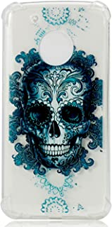 Moto G5 Plus Case Accessories Fashion Rubber Back HD Clear Ultra Slim Fit Protective Shock-Absorption Bumper Flip Cover Shell Anti-Scratch Compatible for Motorola Moto G Plus 5th Generation 2017 Ghost