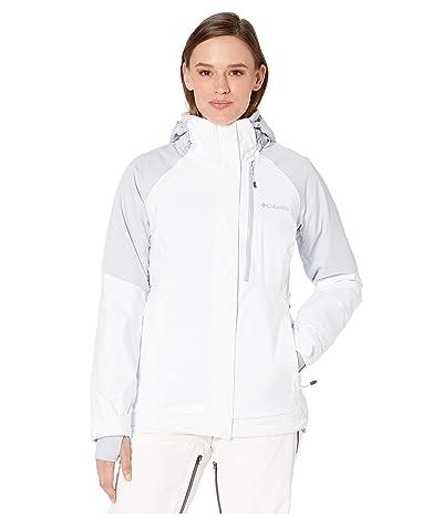 Columbia Wildsidetm Jacket (White/Citrus Grey Heather) Women