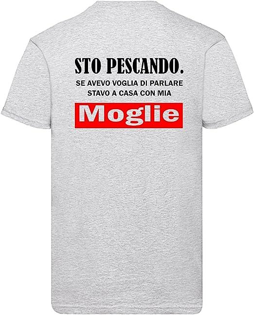 PESCA T-Shirt Divertente T-shirt Pesce T-shirt moglie era la mia migliore cattura T-shirt Regalo